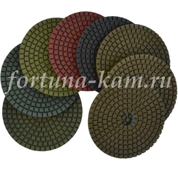 Алмазные гибкие диски EHWA 100 мм.