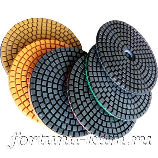 Алмазные гибкие диски EHWA ECO 100 мм.