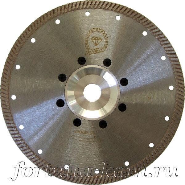 Отрезной диск Hess с фланцем 230 мм.