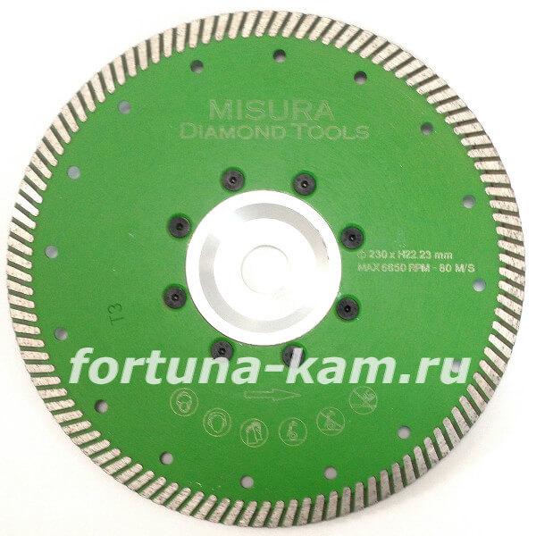 Отрезной диск Misura с фланцем 230 мм.