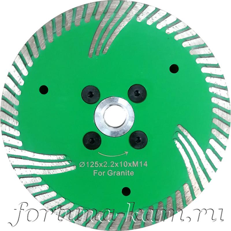 Отрезной диск Tiger Claw с фланцем 125 мм.