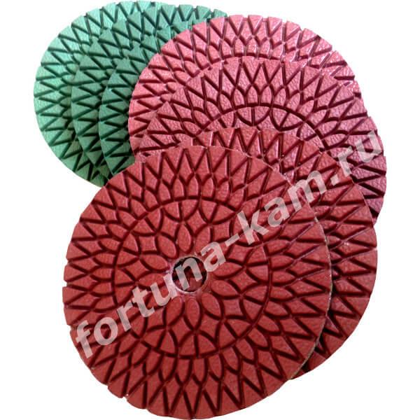 Алмазные гибкие диски Huangchang 100 мм.