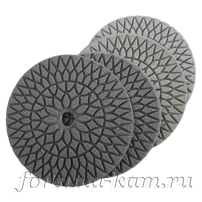 Алмазные гибкие диски W hybrid 100 мм.