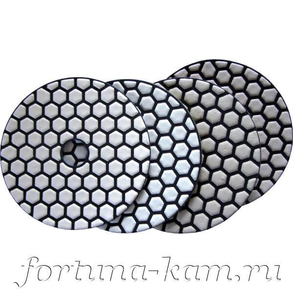Алмазные гибкие диски EHWA 4-STEP 100 мм.