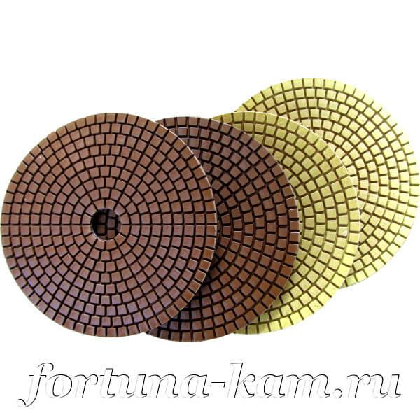 Алмазные гибкие диски EHWA 4-STEP 125 мм.