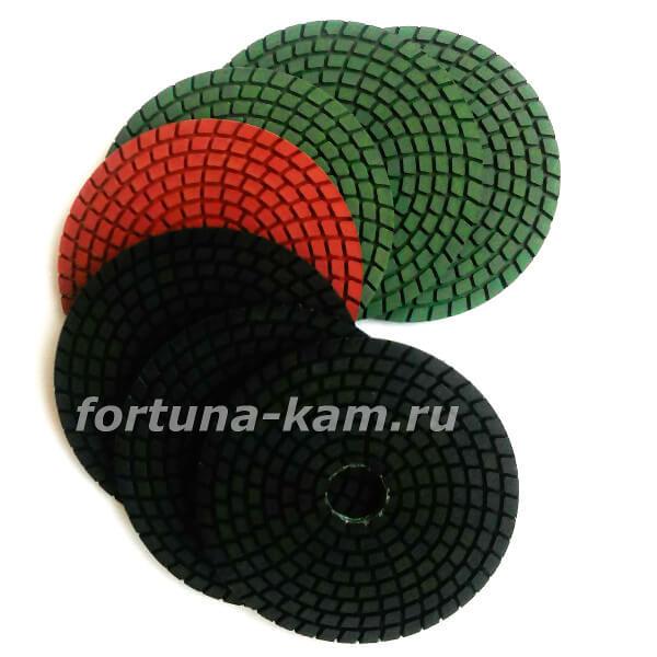 """Алмазные гибкие диски """"Булава"""" 2,4мм. 100 мм."""