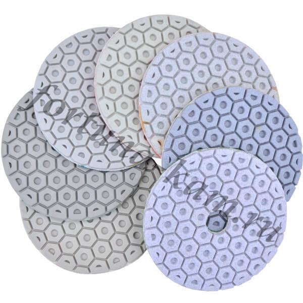 """Алмазные гибкие диски """"гайка"""" Huangchang 100 мм."""