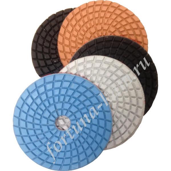 Алмазные гибкие диски 100 мм.