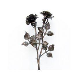 Ритуальные кованые цветы
