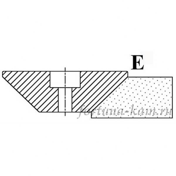 Фреза сегментная профиль E №00