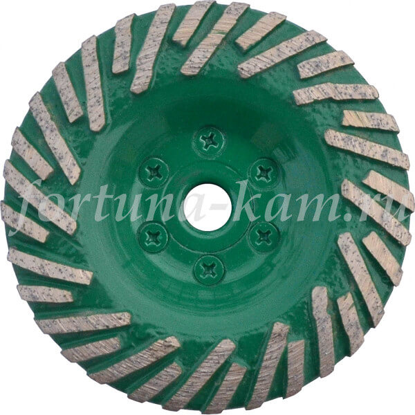 Фреза алмазная Invatech 100 мм. Тип «Тайфун-выпуклая» №0