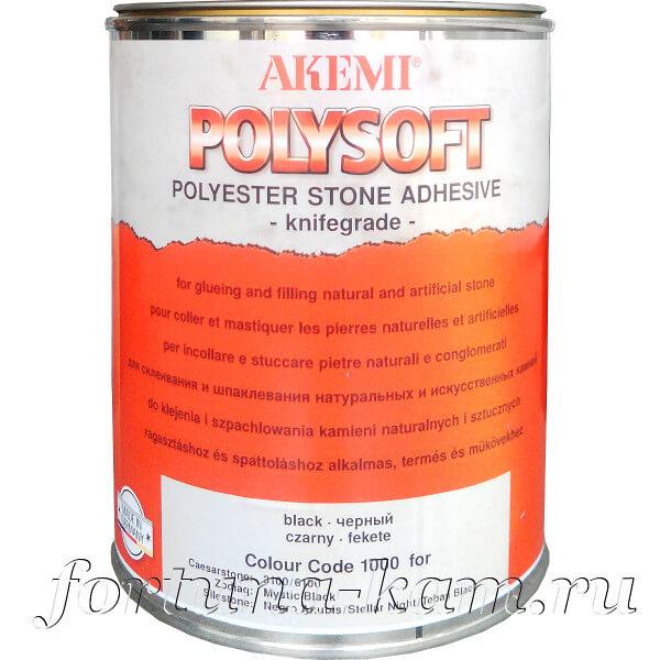 Клей-мастика Akemi Polysoft чёрный 1650 мл.