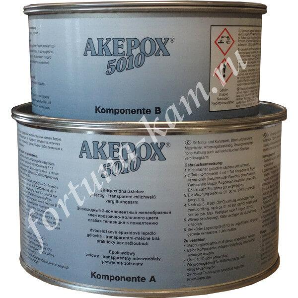 Клей Akepox 5010 двухкомпонентный 2,25 л.