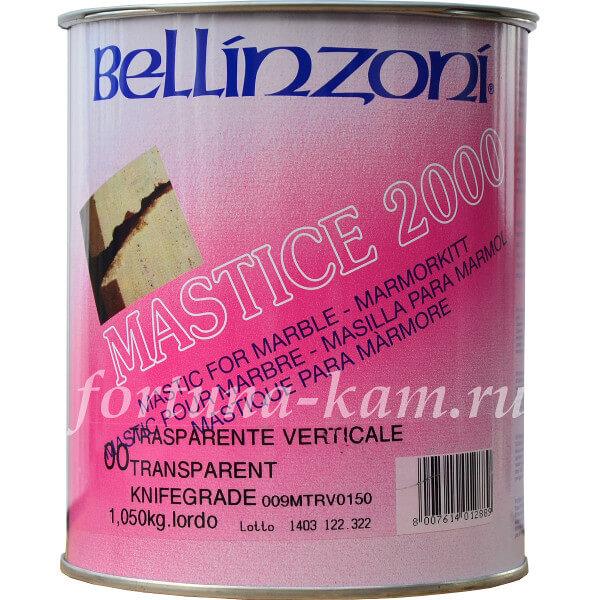 Клей Bellinzoni 2000 бесцветный густой 1,05 кг.