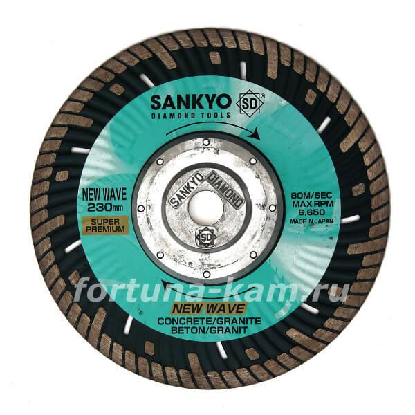 Отрезной диск Sankyo «New Wave» с фланцем 230 мм.