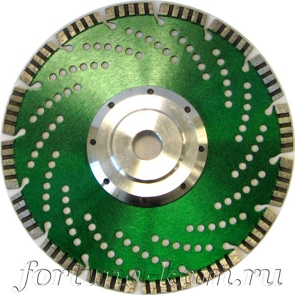 Отрезной диск EHWA AIR TIGER с фланцем 230 мм.