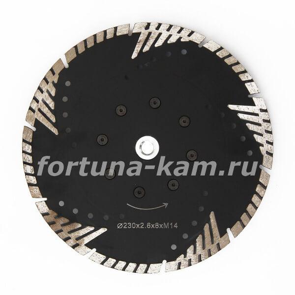 Отрезной диск Tiger Claw с фланцем 230 мм.