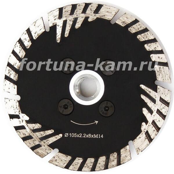 Отрезной диск Tiger Claw с фланцем 100 мм.