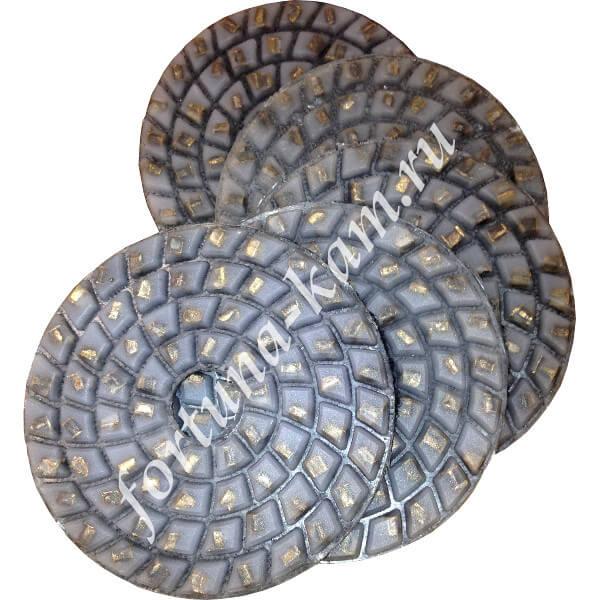 Алмазные гибкие диски W 100 мм.