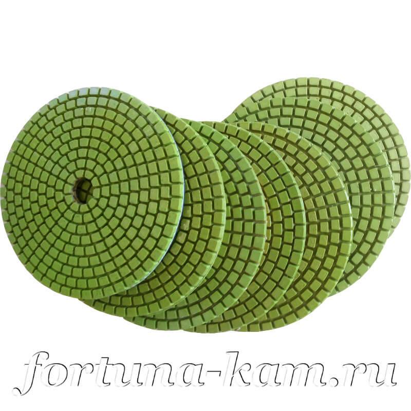Алмазные гибкие диски Xiamen 100 мм.