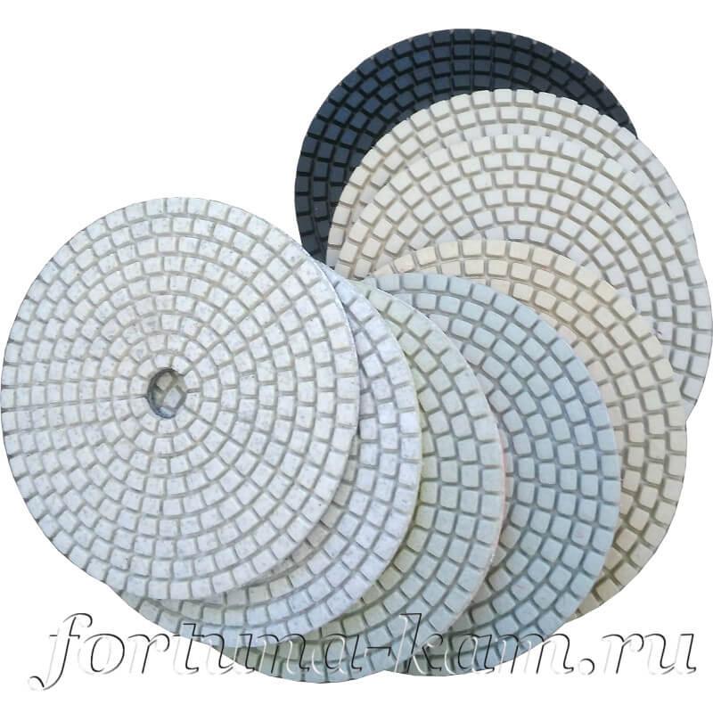 Алмазные гибкие диски Xiamen hybrid 100 мм.